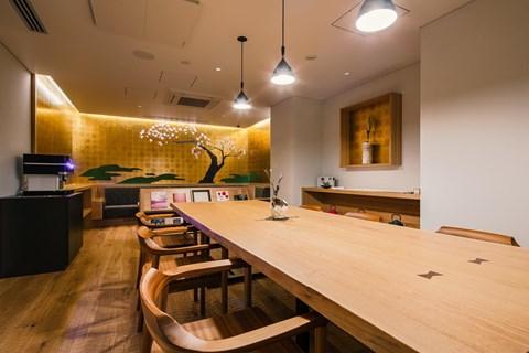 京都河原町三條Resol飯店living room
