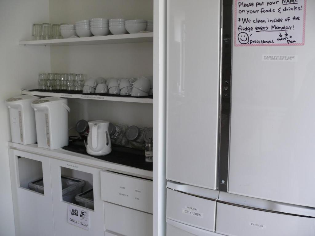 Piece Hostel 廚房用具