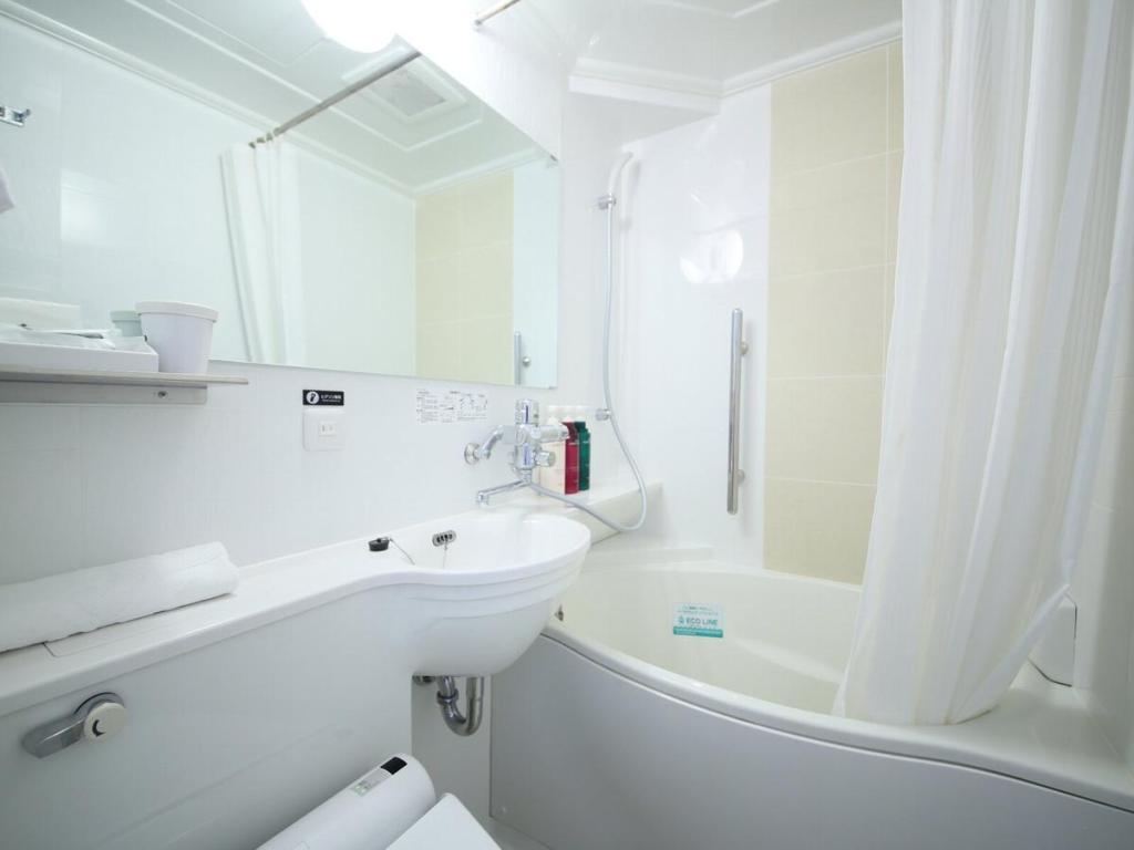 京都站前APA酒店浴室