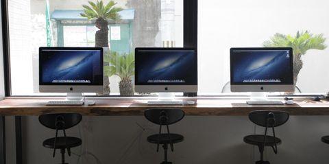 Piece Hostel iMac