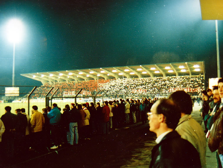 Tifo Section Graoully Metz Marseille 1994