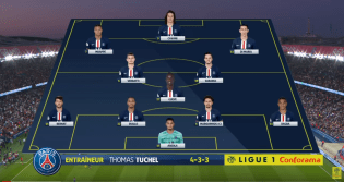 Composition de PSG - Toulouse