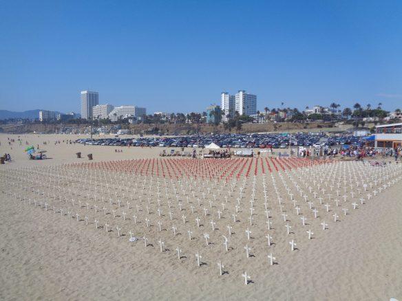 croci in spiaggia