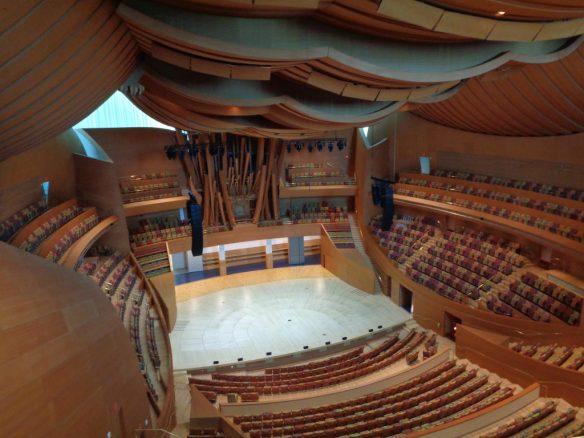 Walt Disney Concert Hall - interno