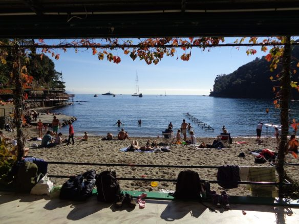 In spiaggia il 31 Ottobre