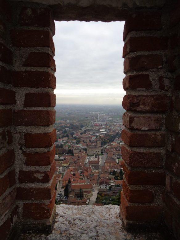 Marostica: Castello Inferiore dal Castello Superiore