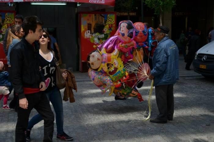 venditore di palloncini