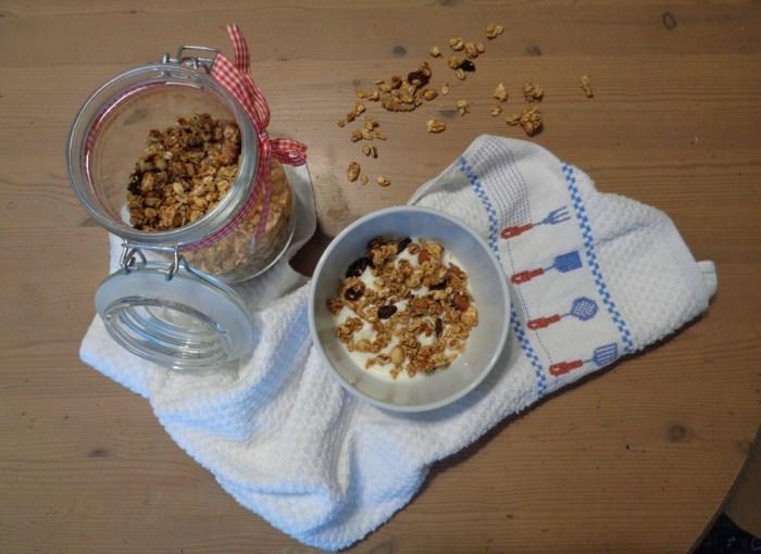 Granola croccante fatta in casa