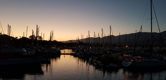 Dove vedere il tramonto a Santa Barbara - Santa Barbara Harbor