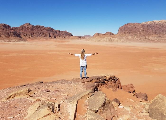 una settimana in Giordania deserto