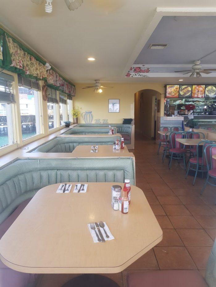 Location della serie TV The O.C. il Diner
