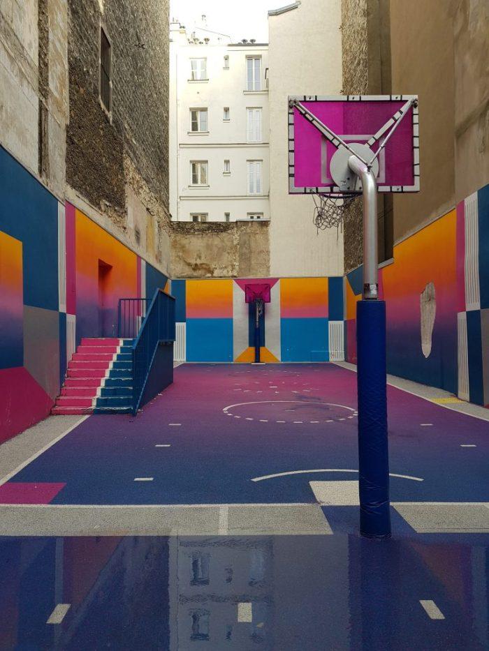 Parigi: luoghi insoliti Pigalle Basketball