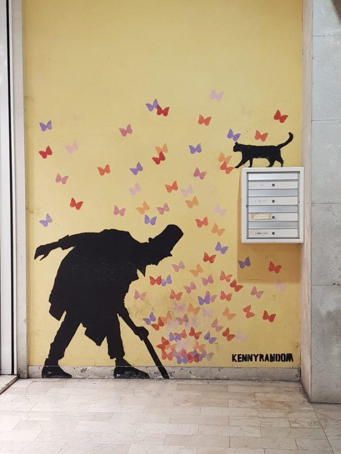 Butterflies - a caccia di street art