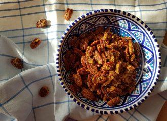 Sweet & Spicy Pecans: la Ricetta - USA