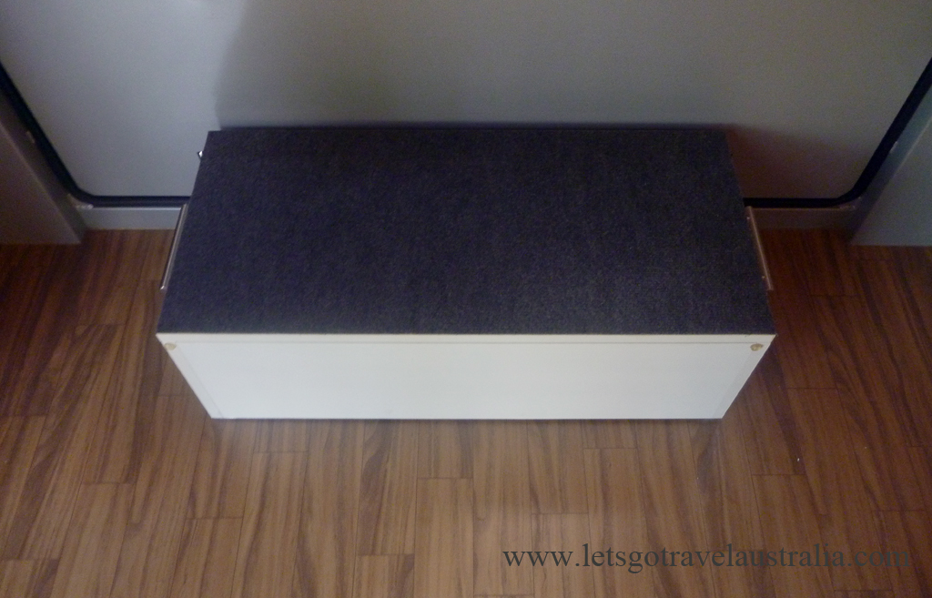 Step and shoe box