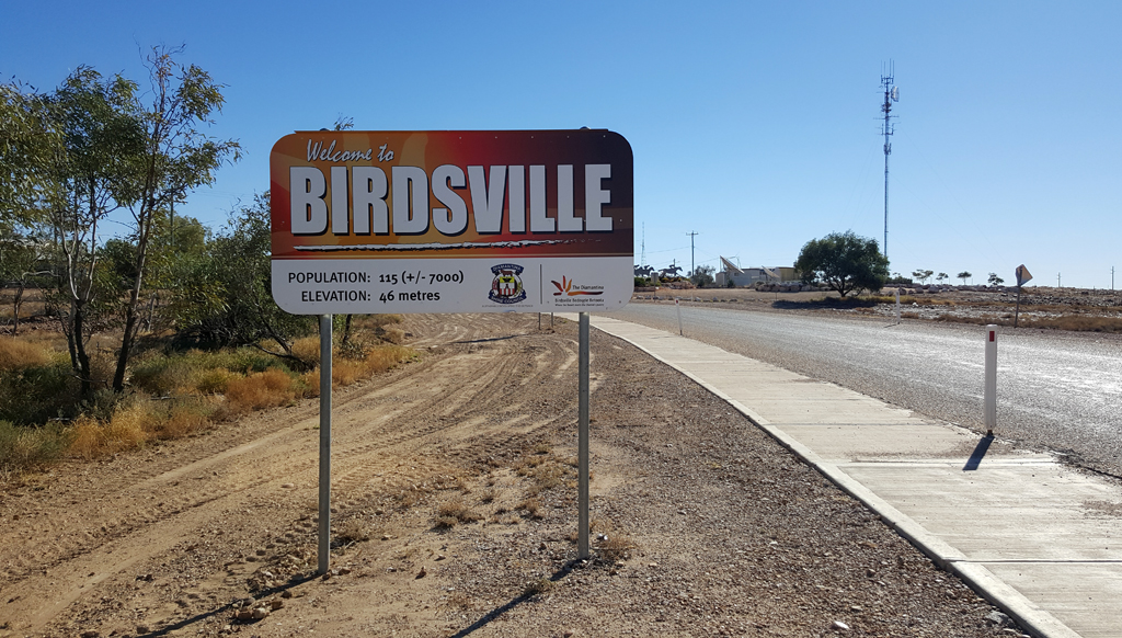 Birdsville the Modern Big Smoke
