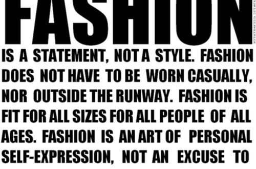 Fashion Therapy – #IAM