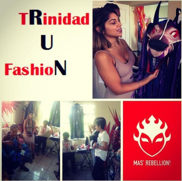Second Stop Mas' Rebellion Mas' Camp for Creative Design Talk