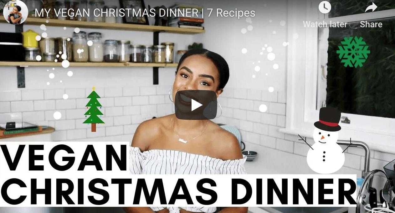 Vegan Christmas ideas via Rachel Ama