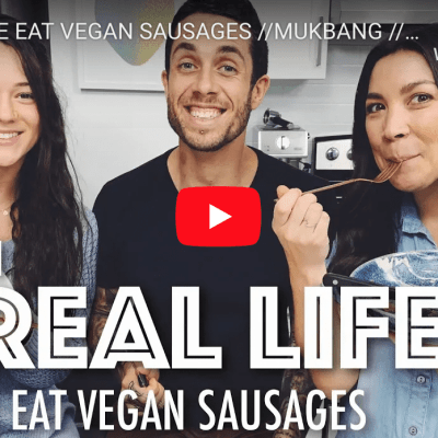 James Aspey & Carly Taylor eat with 'Lauren In Real Life'