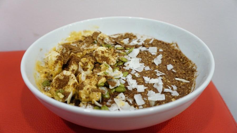Jess's Extra Chocolatey Protein Banana Porridge