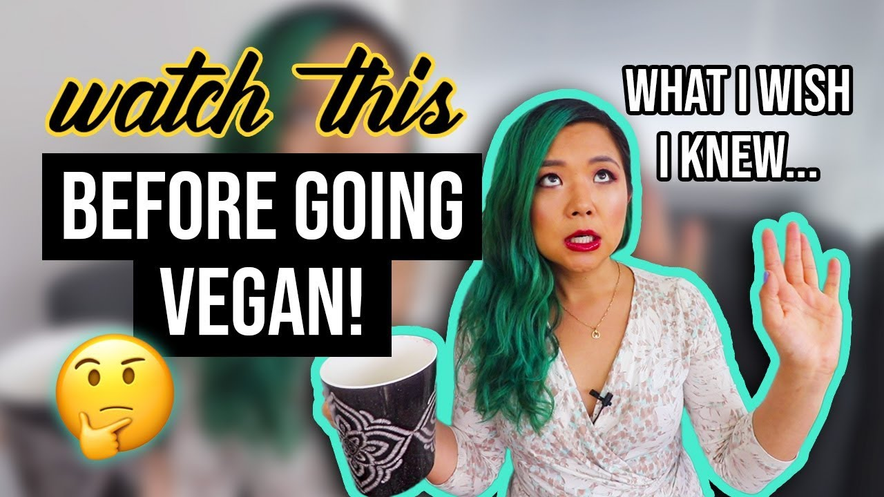 A few things the 'Cheap Lazy Vegan' thinks you should know before going vegan