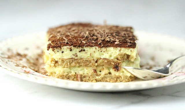 vegan tiramisu dessert