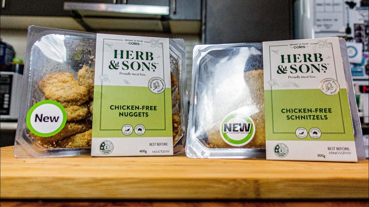 Will James reviews Coles' new vegan schnitzel