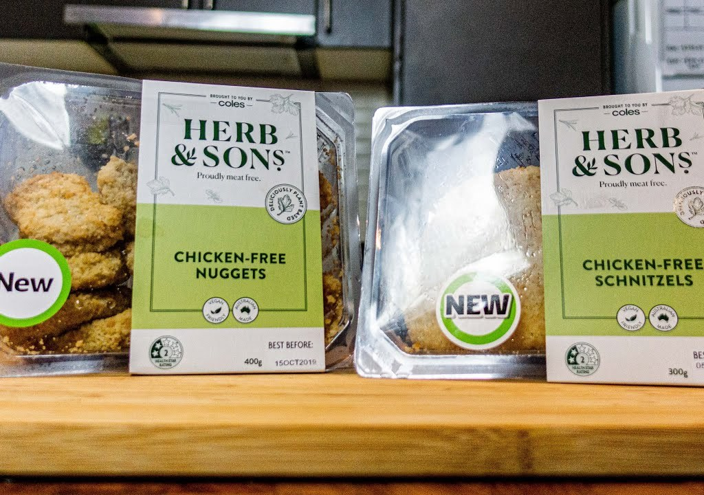 Will James reviews coles vegan range