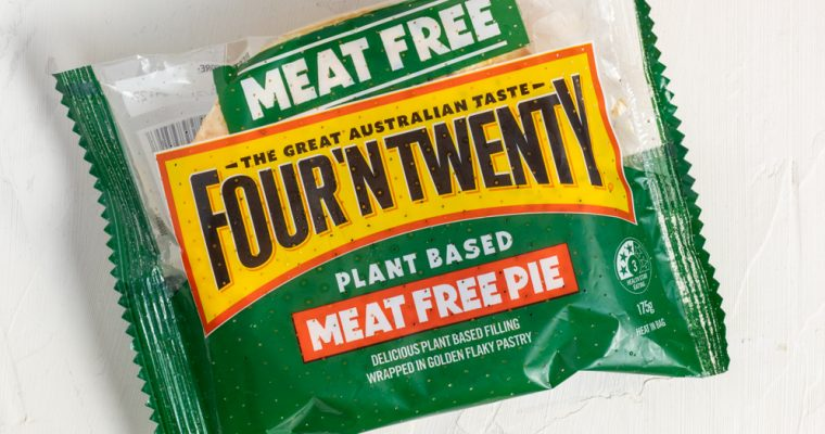 Initial reviews of the Four N Twenty Plant-Based Pie
