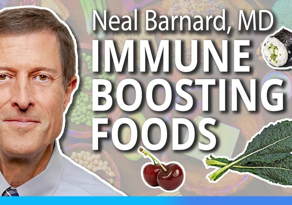 Neal Barnard MD talks Immune-Boosting Foods