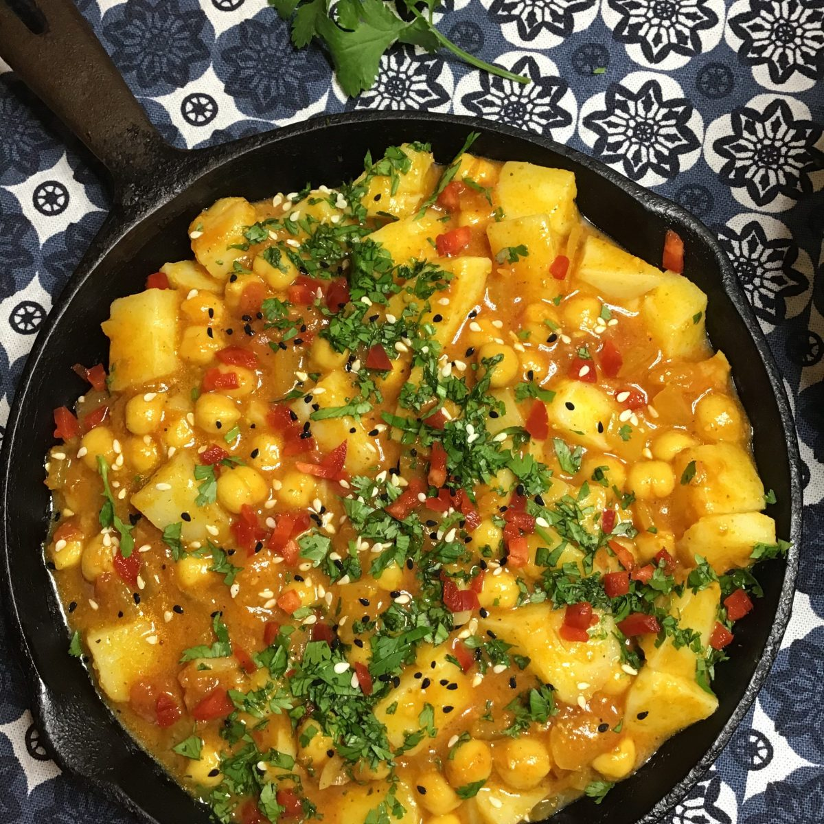 Creamy Chickpea and Potato Curry