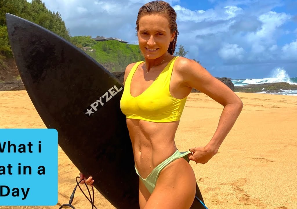 Want to know what a vegan pro surfer eats in a day?