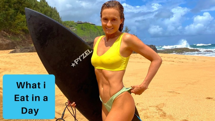 Want to know what a pro vegan surfer eats in a day?