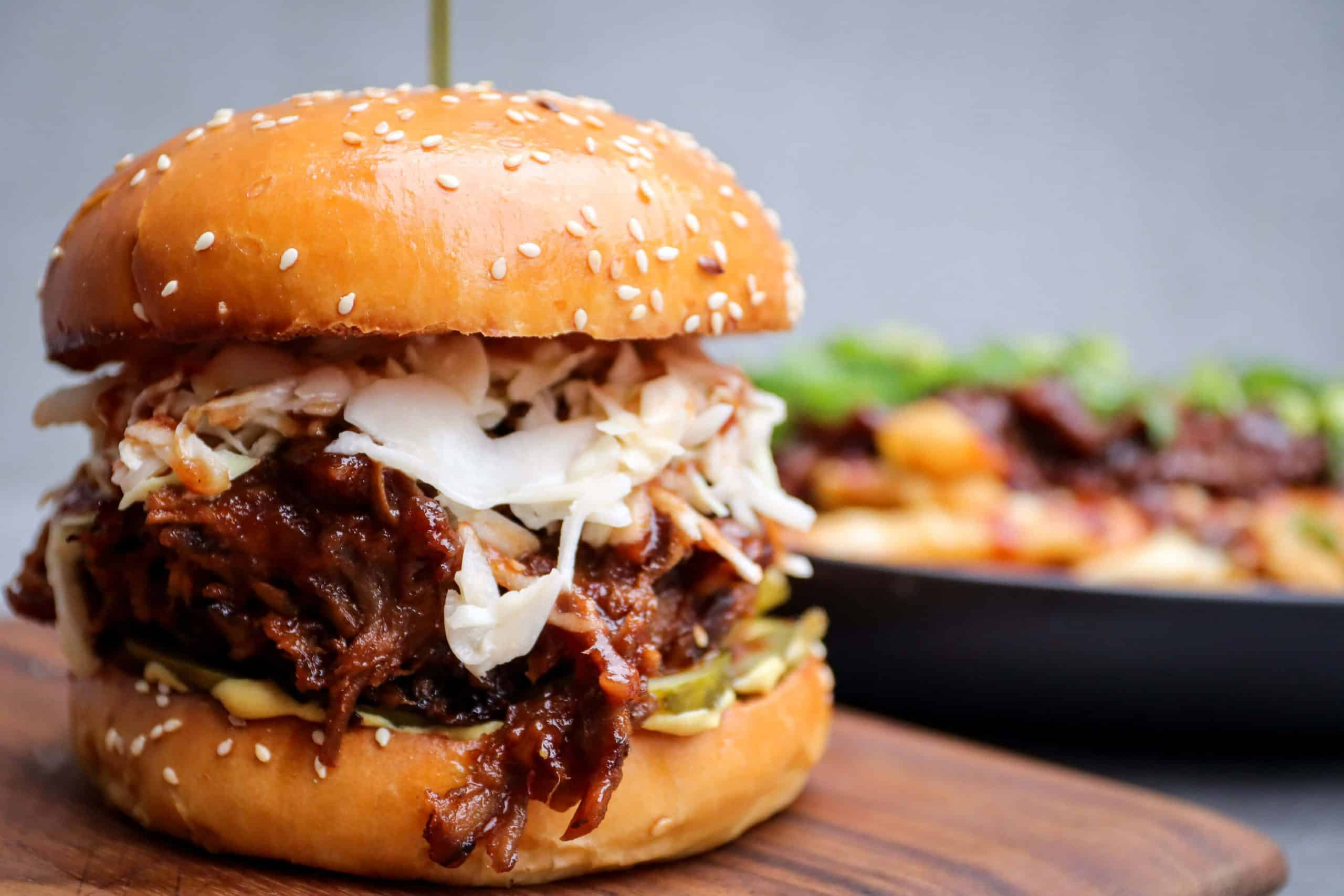 Fable Pulled Pork Burger