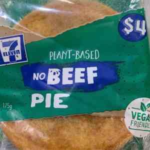 seven eleven vegan pie