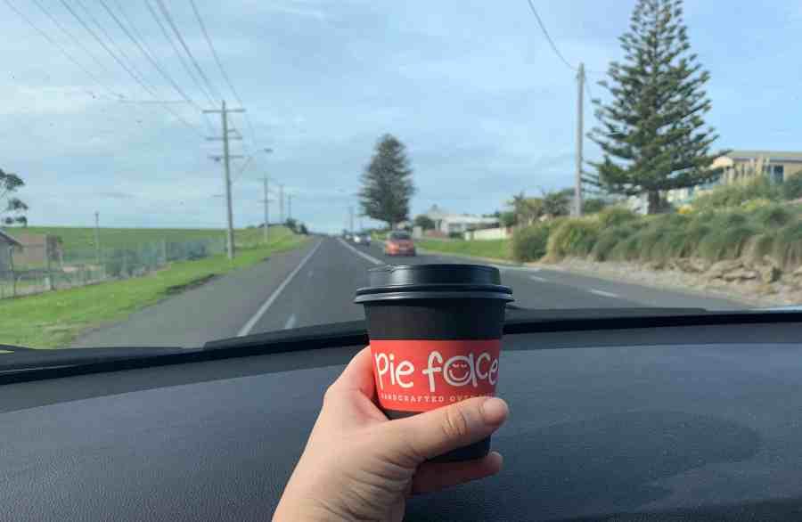 vegan options on a road trip