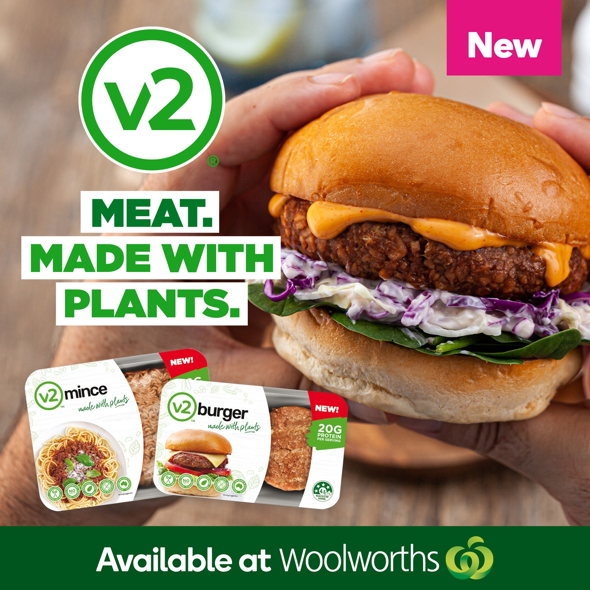 V2 launches into Woolworths Australia Wide