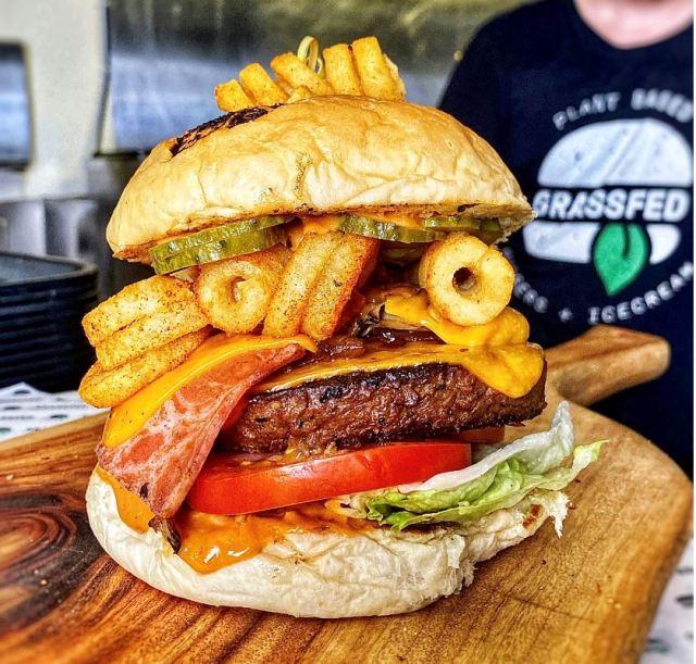 Grassfed burger