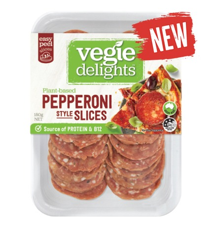 Vegie Delights new plant-based Pepperoni is here