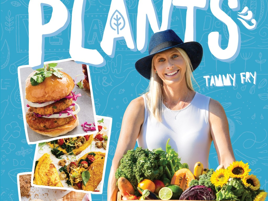Tammy Fry launches new plant based cookbook