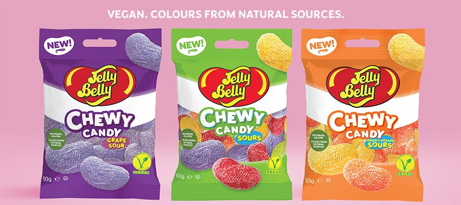 Jelly Belly is now in the vegan market
