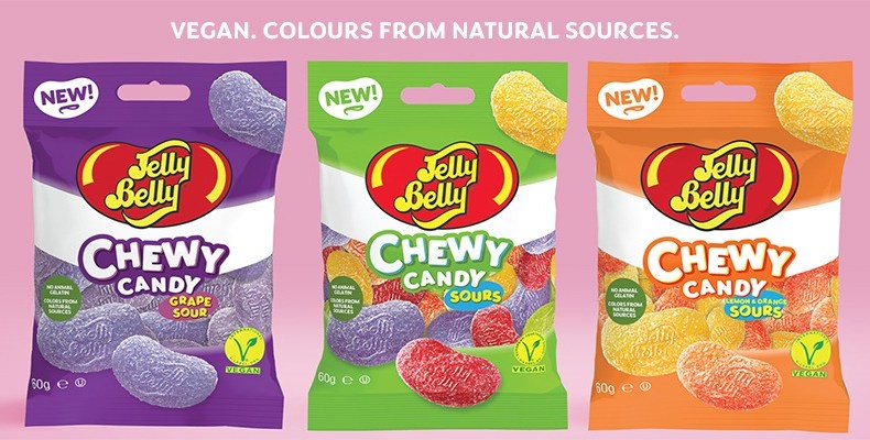 Jelly Belly are now in the vegan market