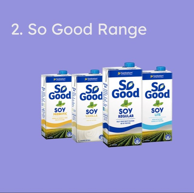 Best Soy Milk in Australia as voted by you!
