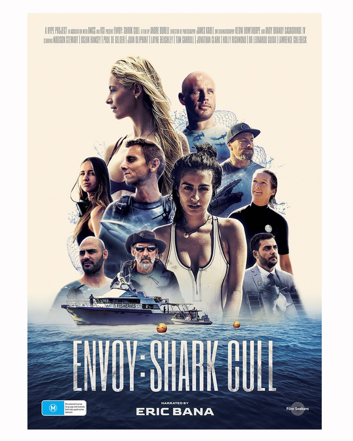 New Shark Cull Documentary Envoy