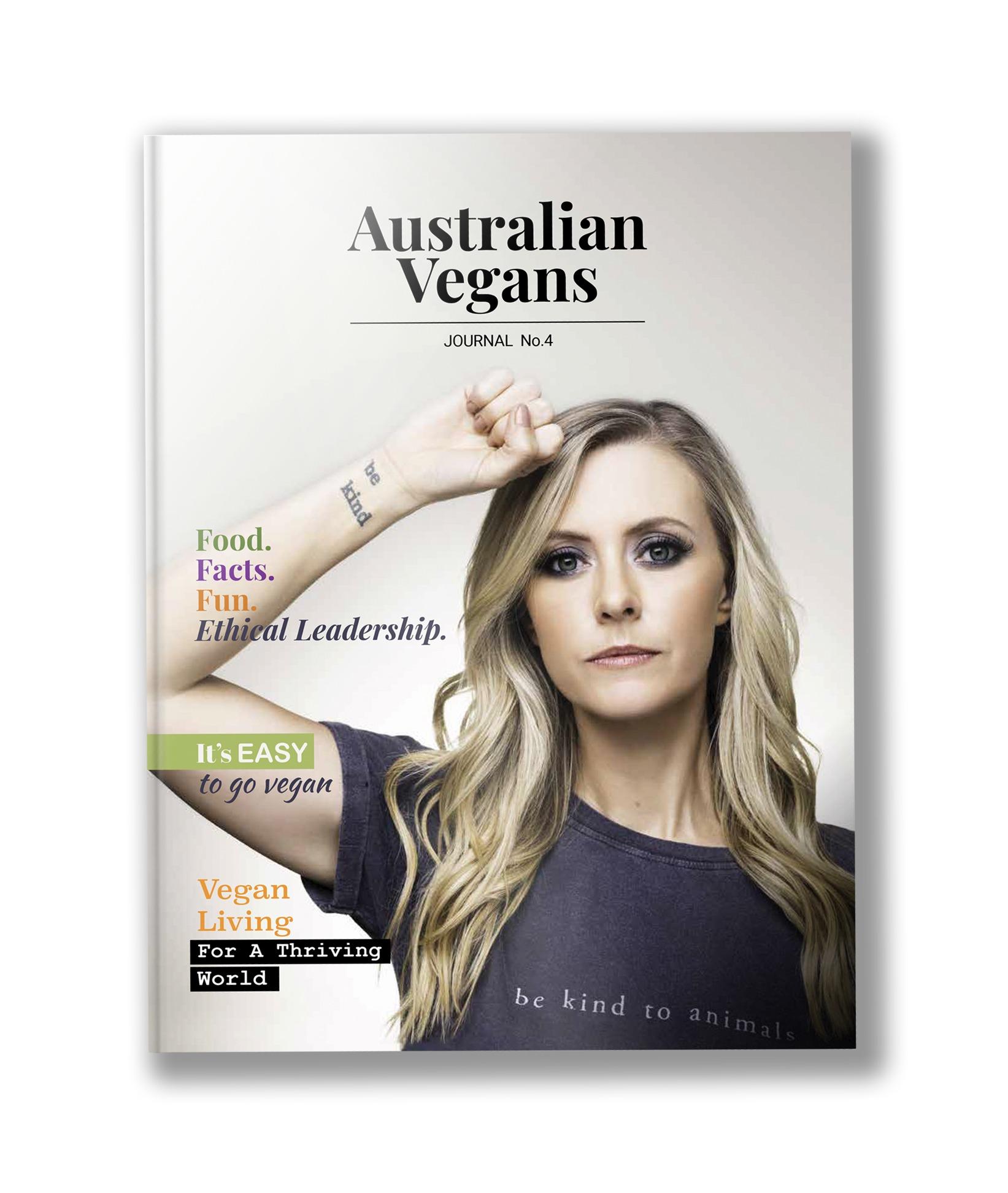 Australian Vegans Journal Vol 4 is out now!