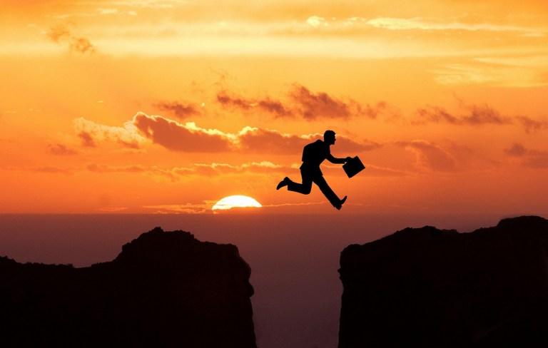leadership taking leaps