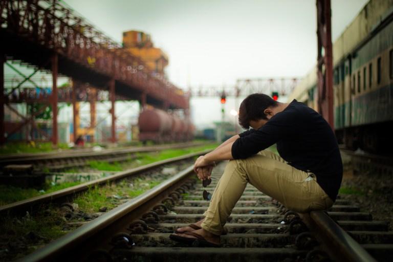 a person having regret