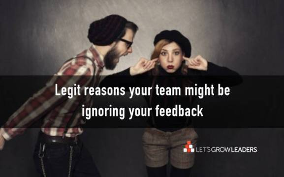 7 reasons your feedback is ignored