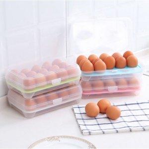 Egg Storage Box-White-1